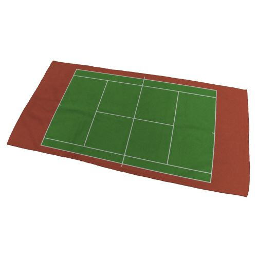 Tennis Court Bath Towel - Small
